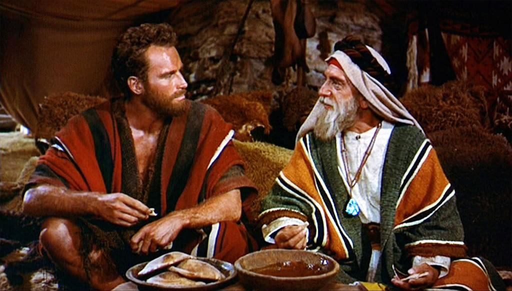 Moses and Jethro Yitro