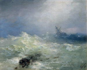 Boat in a Tempest