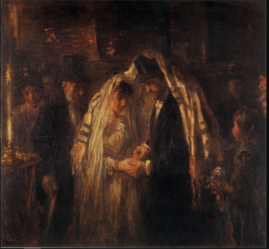 A Jewish Wedding , Israëls 1903